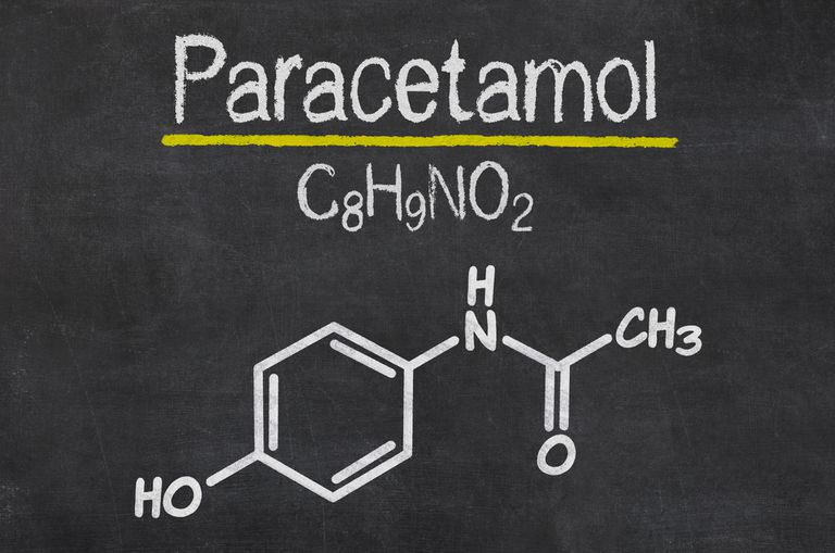 Paracetamol formula and structure