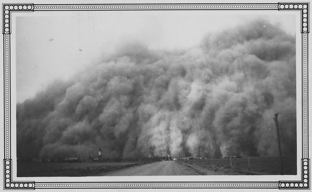 Dust Storms Baca Co., Colorado