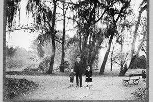 Stromovka park, Prague, Czech Lands 10/29/1916