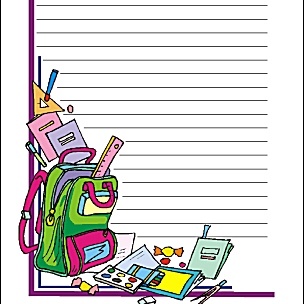 Back to School Theme Paper