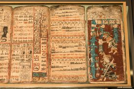 pages from the Dresden Codex