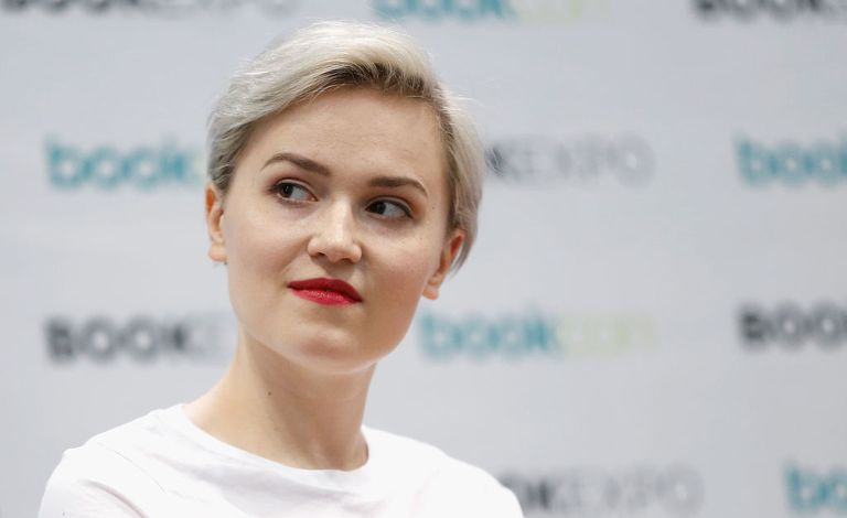 Portrait of novelist Veronica Roth