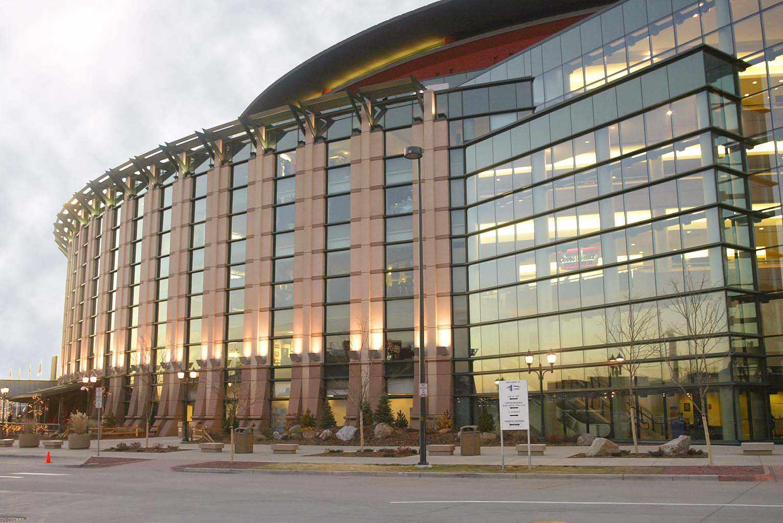 Pepsi Center stadium and convention hall in Denver, Colorado
