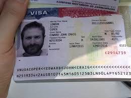 Pasaporte con visa americana.