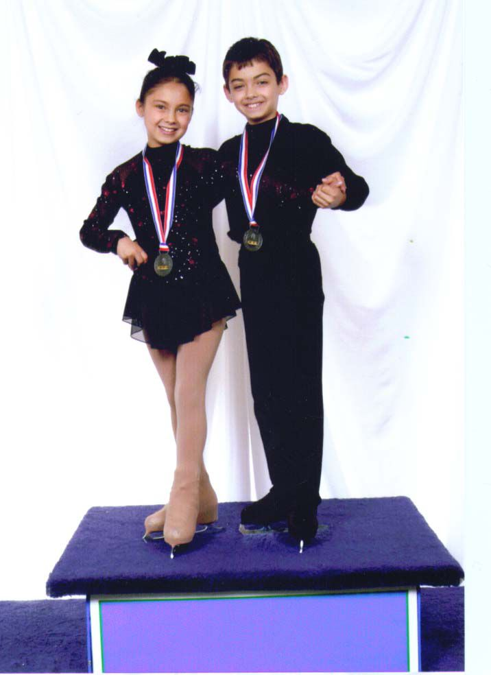 Ice Dance and Pair Skaters Rebekah and Joel Schneider-Farris