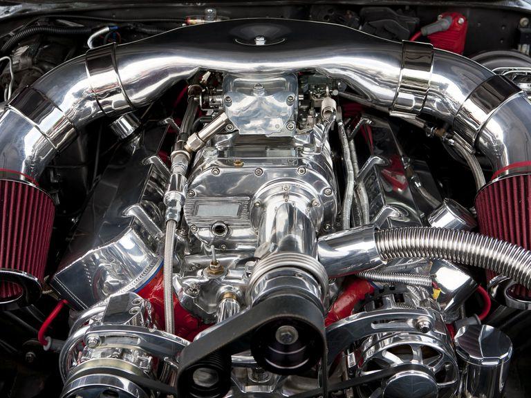 belt-driven supercharger