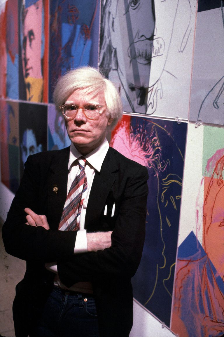 andy warhol iconic pop artist