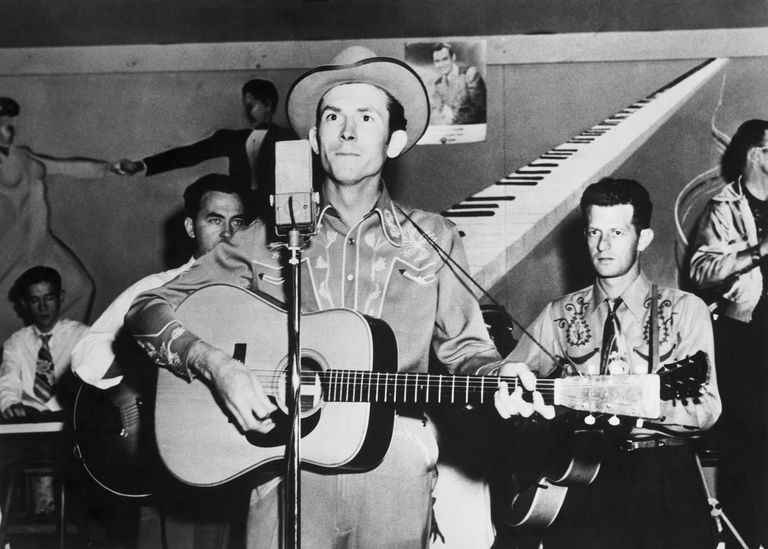 Hank Williams and Band Performing