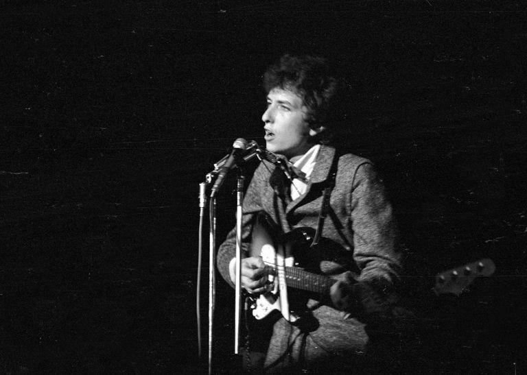 Dylan Live In NY In '66