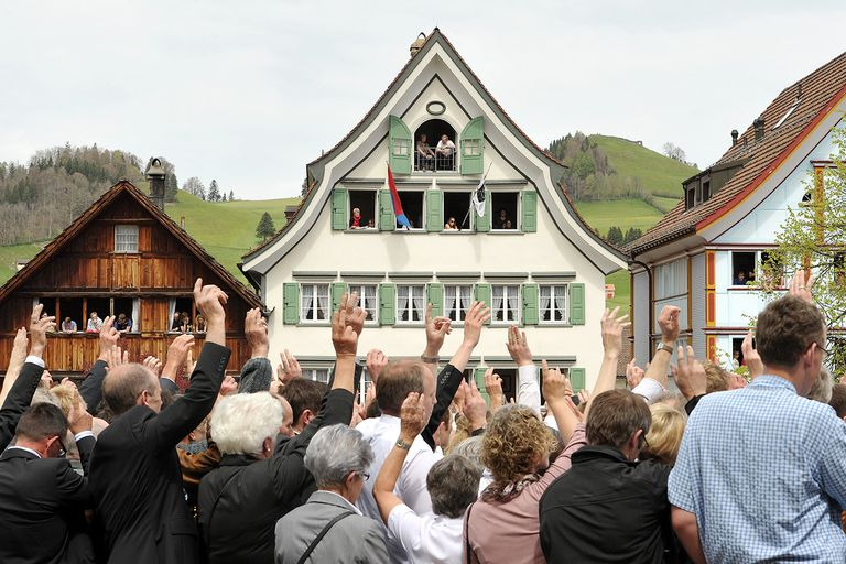 Swiss Citizens Voting
