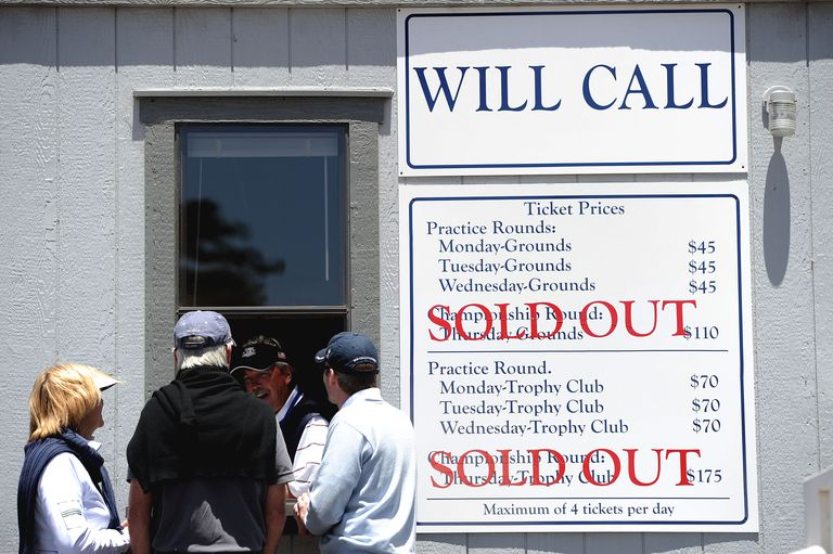 Will call ticket booth at US Open