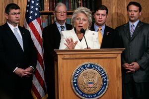 Blue Dog Democrats Hold Press Conference On Iraq Fiscal Accountability