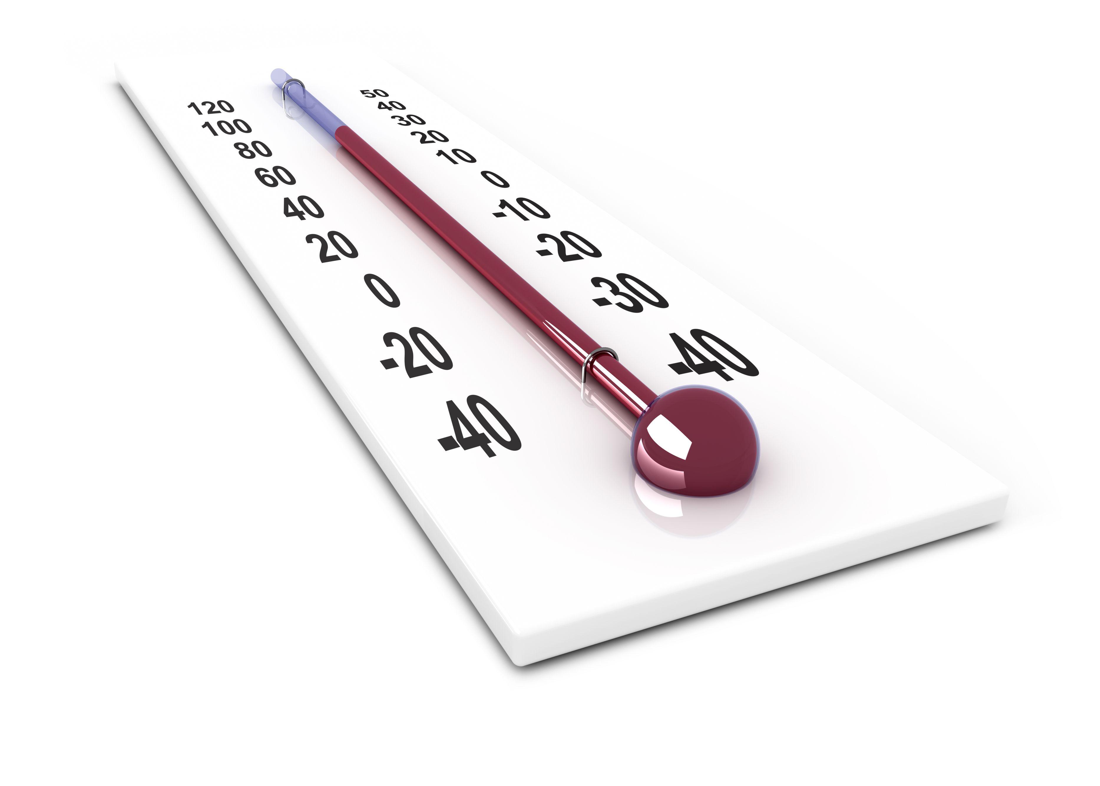 Suchen Sie mit dieser einfachen Tabelle nach Temperaturumrechnungen