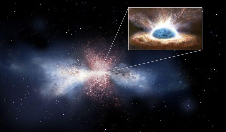 black holes threaten star formation