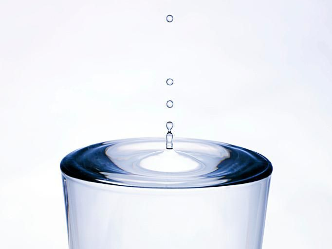 The percent of water in the body is not constant. (Getty Images)