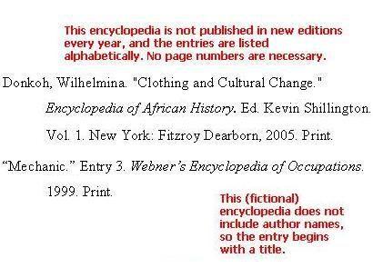Encyclopedia MLA
