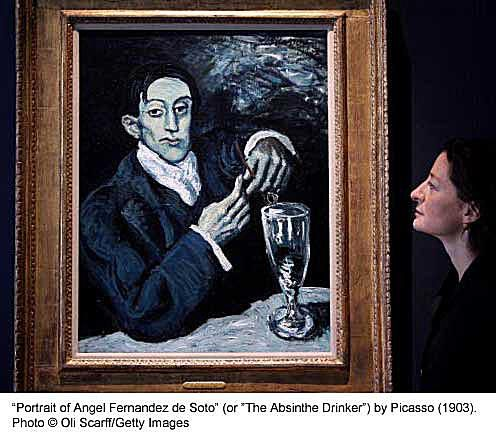 """""""The Absinthe Drinker"""" - Picasso"""