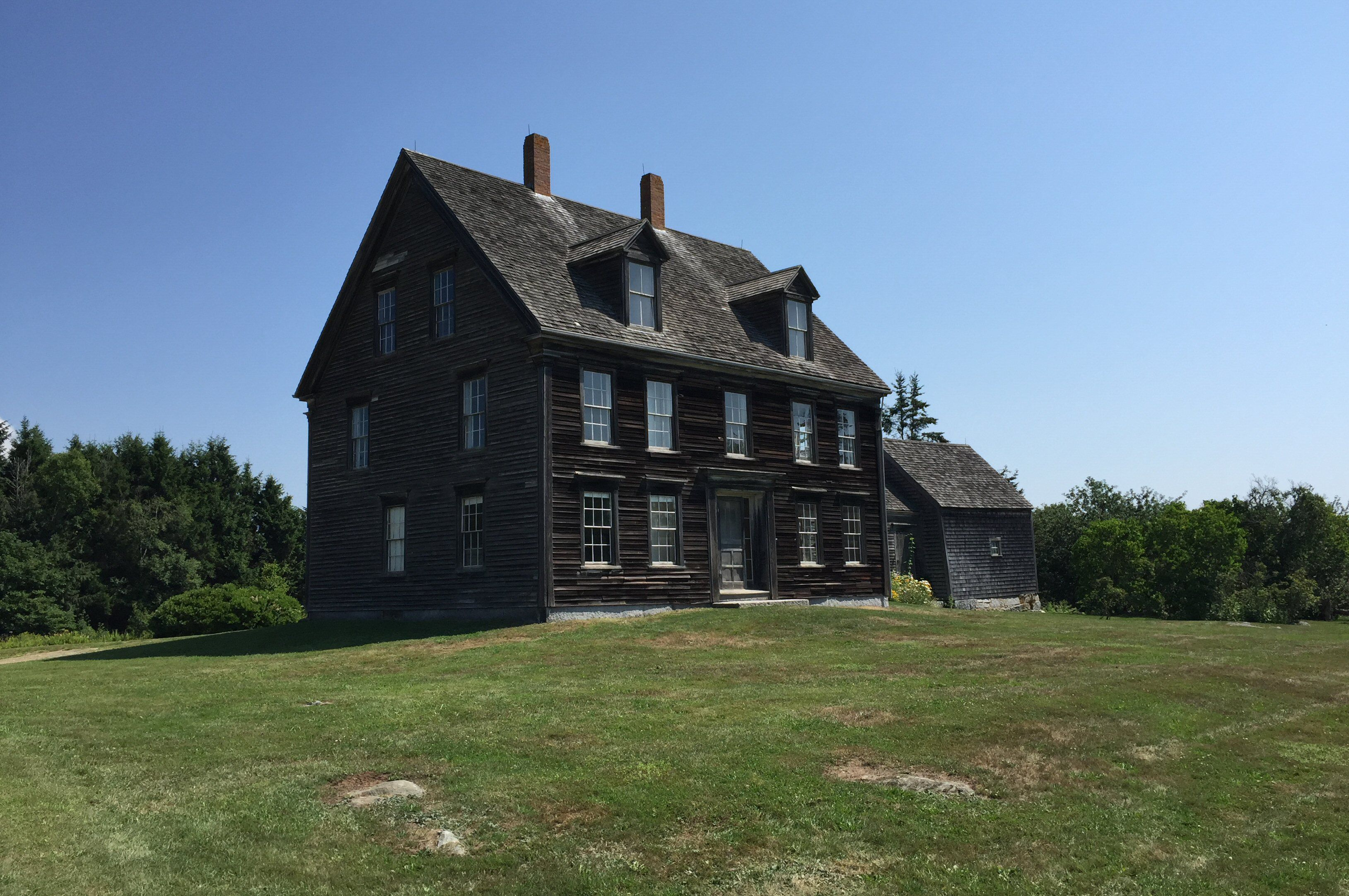 The Olson House in South Cushing, Maine