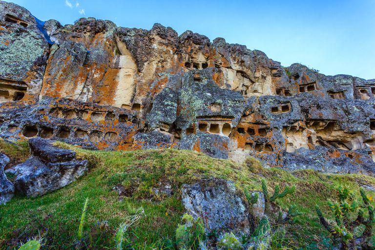 Grottos at Cumbemayo