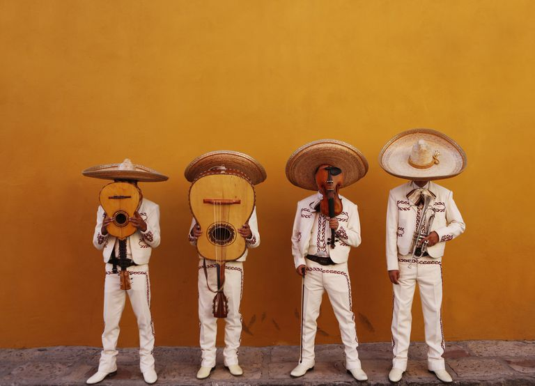 four mariachis