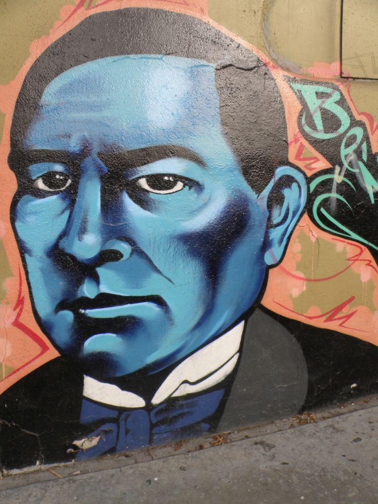 Benito Juarez Mural