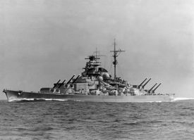 German battleship