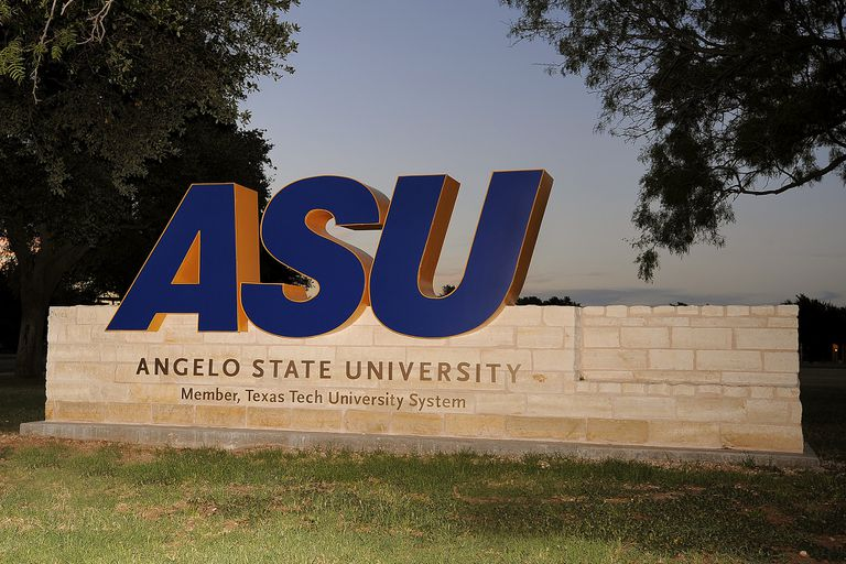 ASU sign on campus.