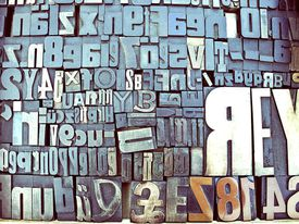 Mixed and matched letters