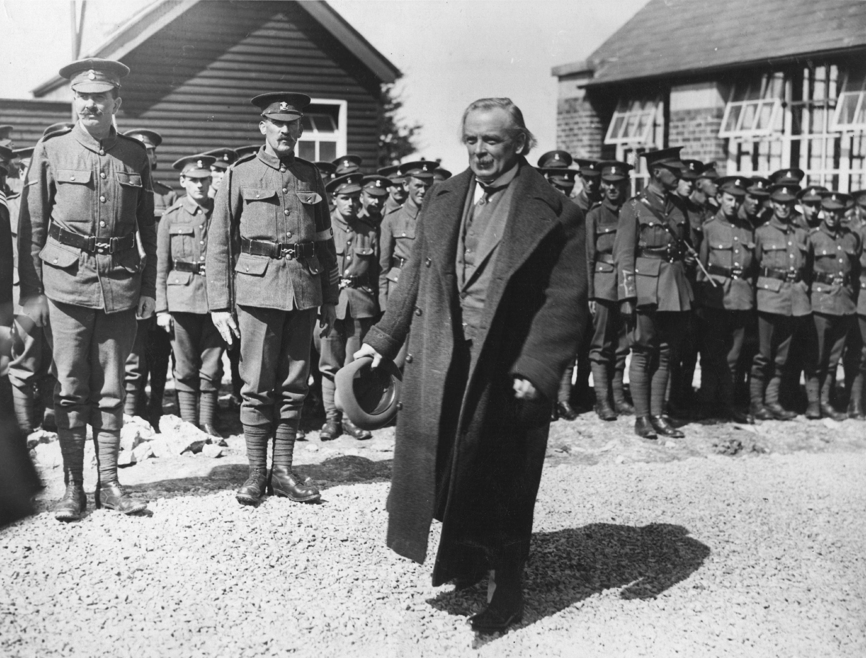 PM At Military Camp