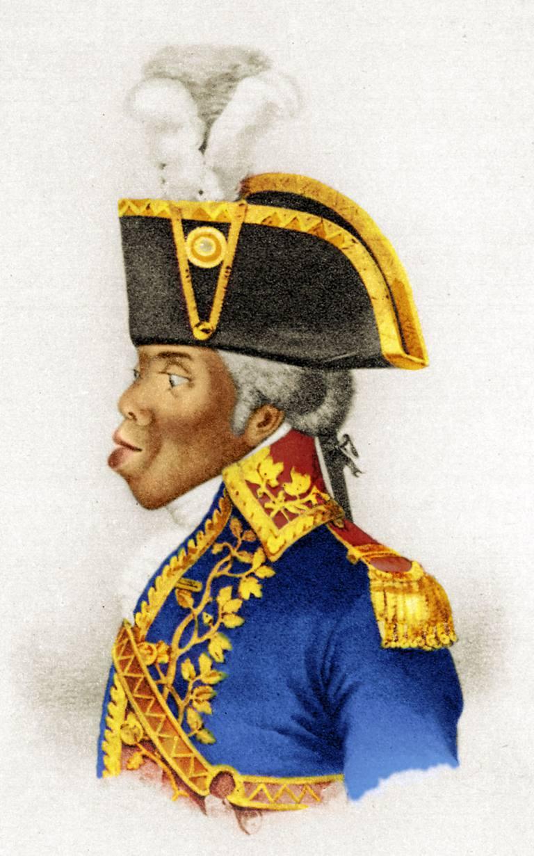 Haitian Revolution Leader Touissant Louverture
