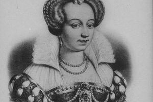 Portrait of Margaret of Valois