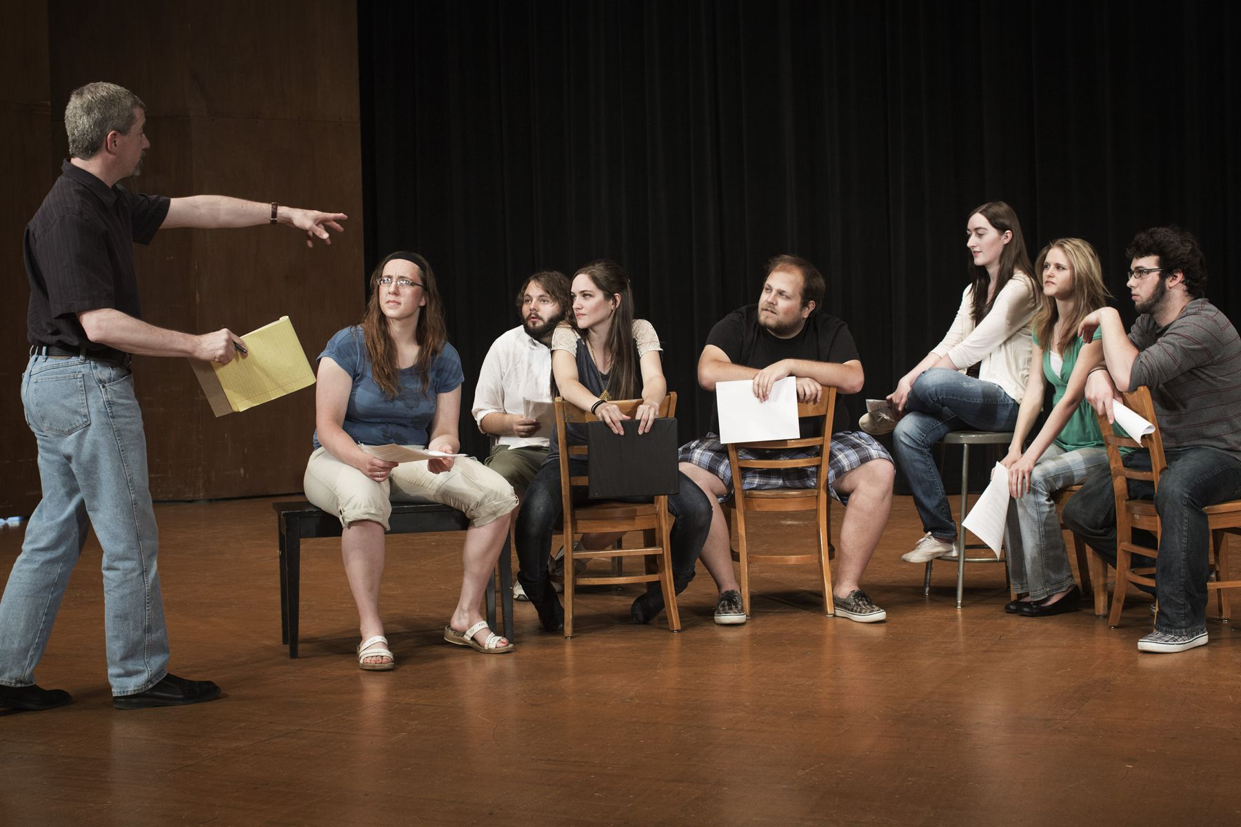 Stage Directions for Actors: The Basics