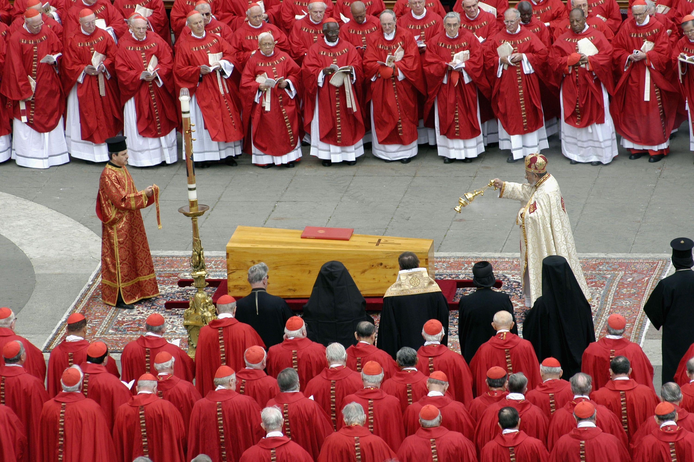Funeral Held For Pope John Paul II