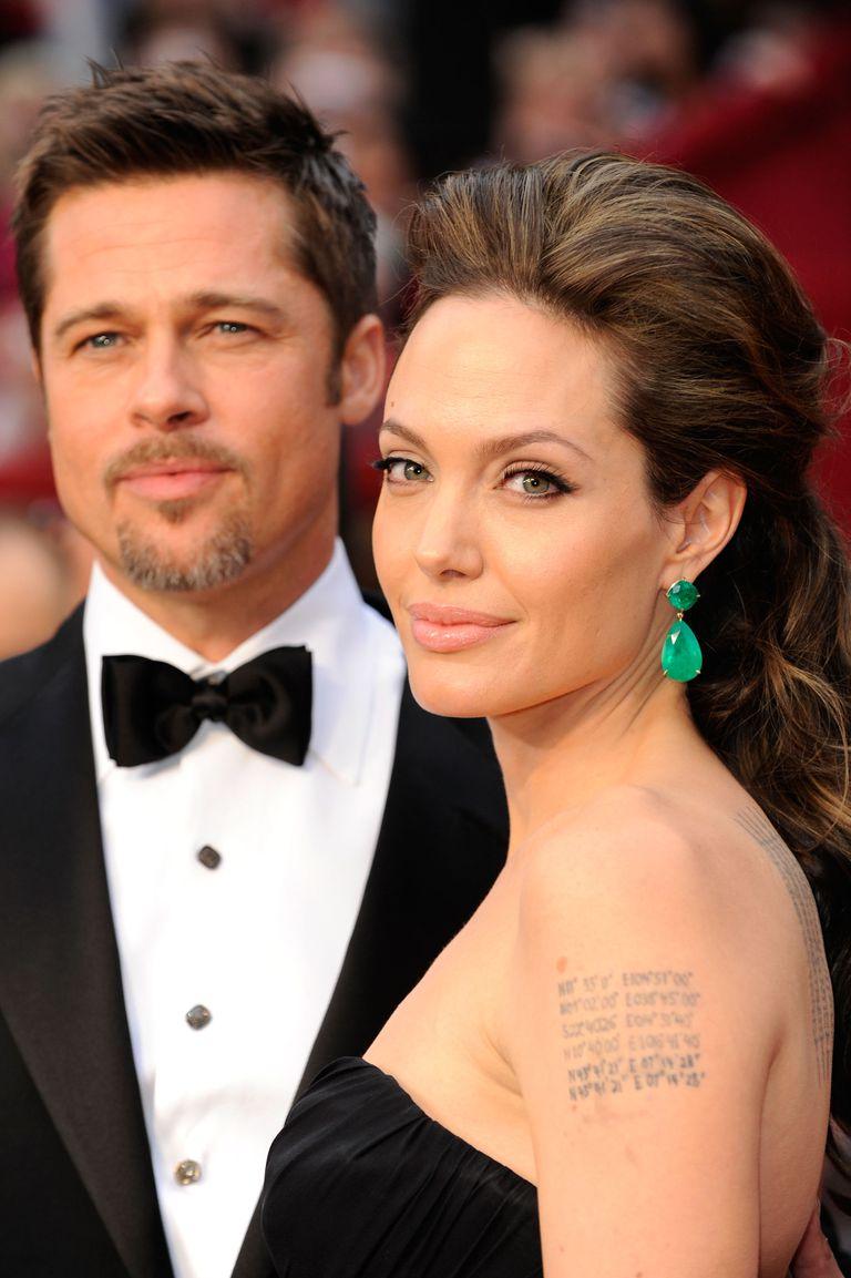 Angelina Jolie's Shoulder Tattoo
