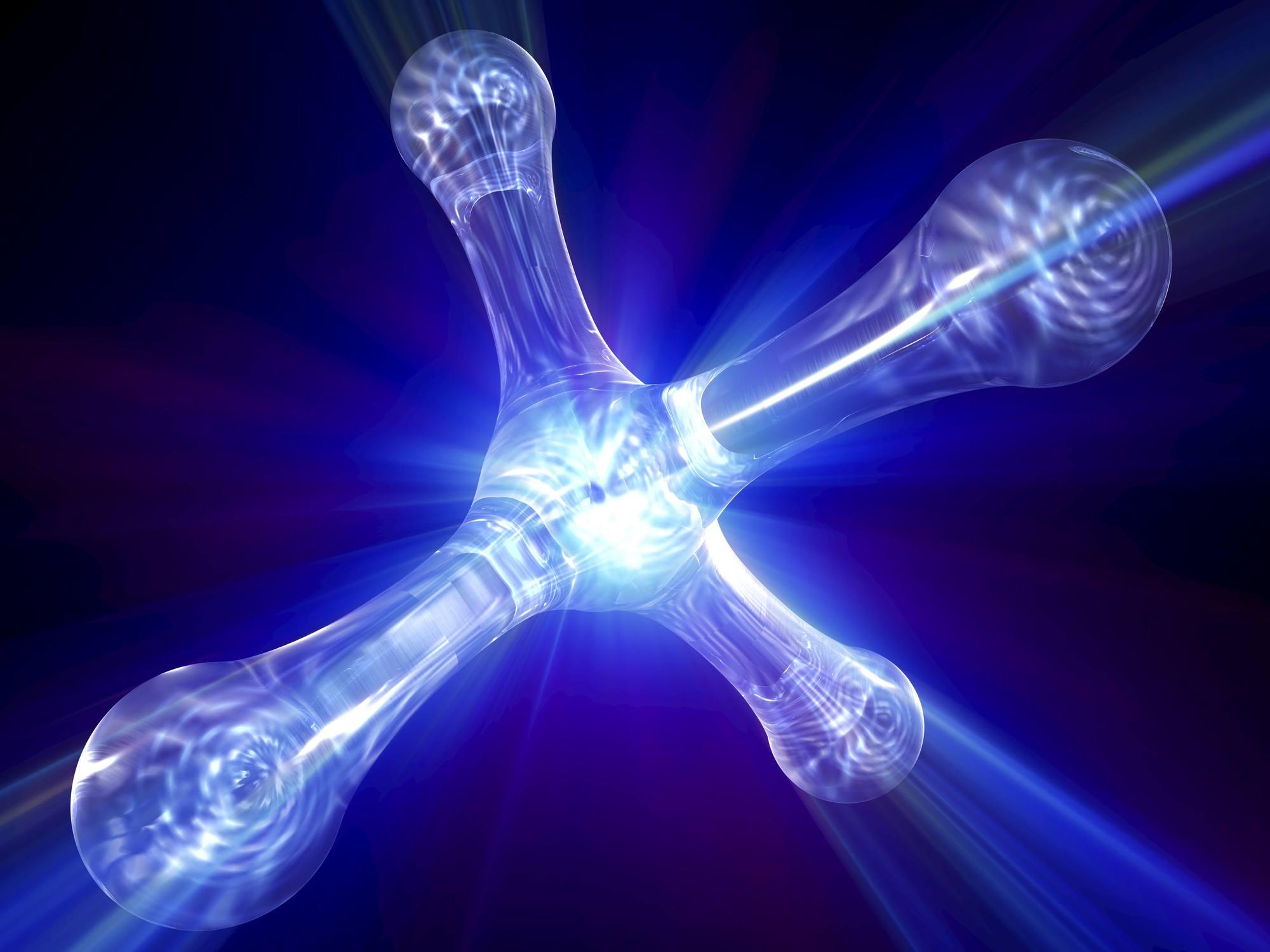 modèle de l'atome Quantum