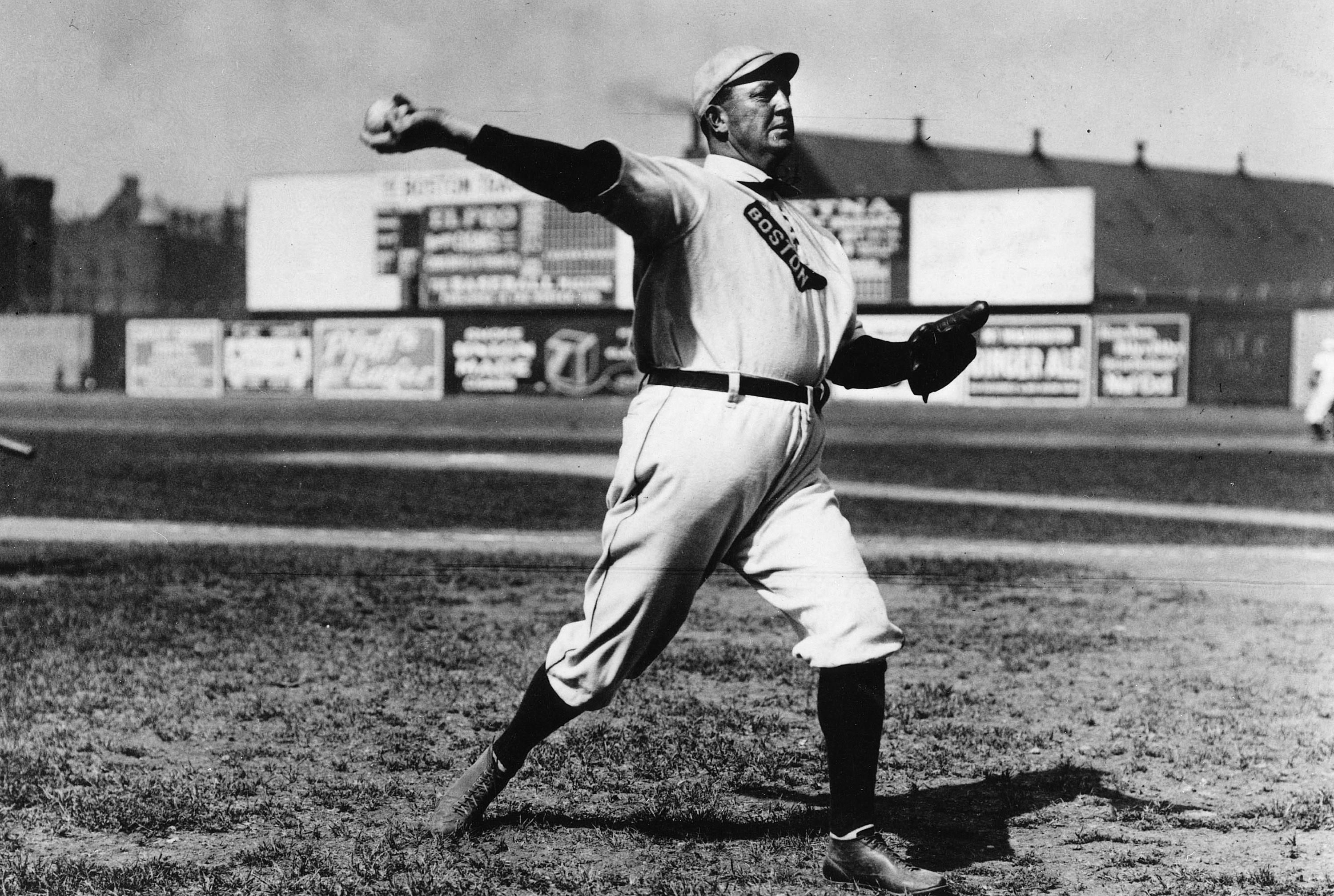 Baseball pitcher Cy Young