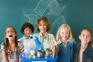Students excited about recycling