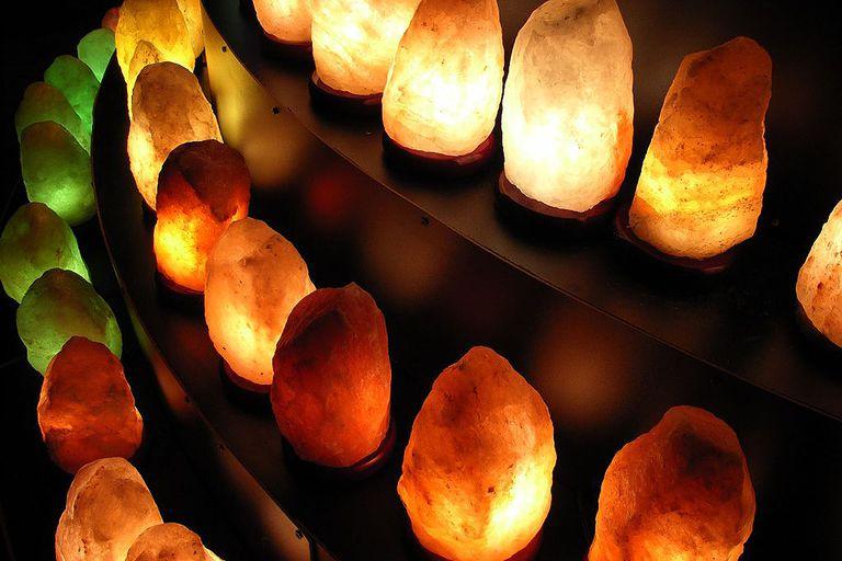 Salt lamps