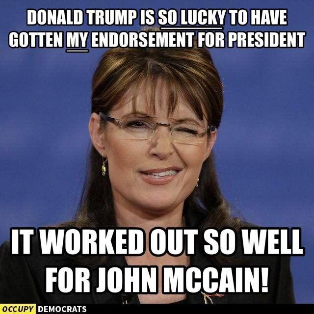 SARAH PALIN MEMES image memes at relatably.com  |Sarah Palin Meme