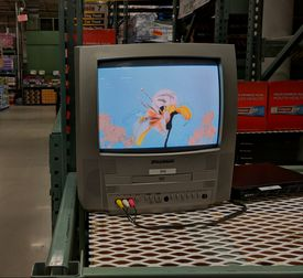 An old CRT Television