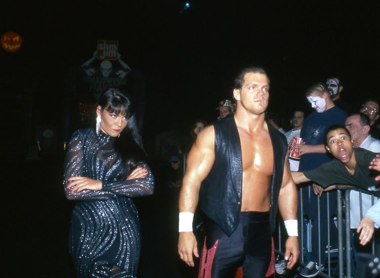 Chris Benoit and Nancy Benoit - File Photos