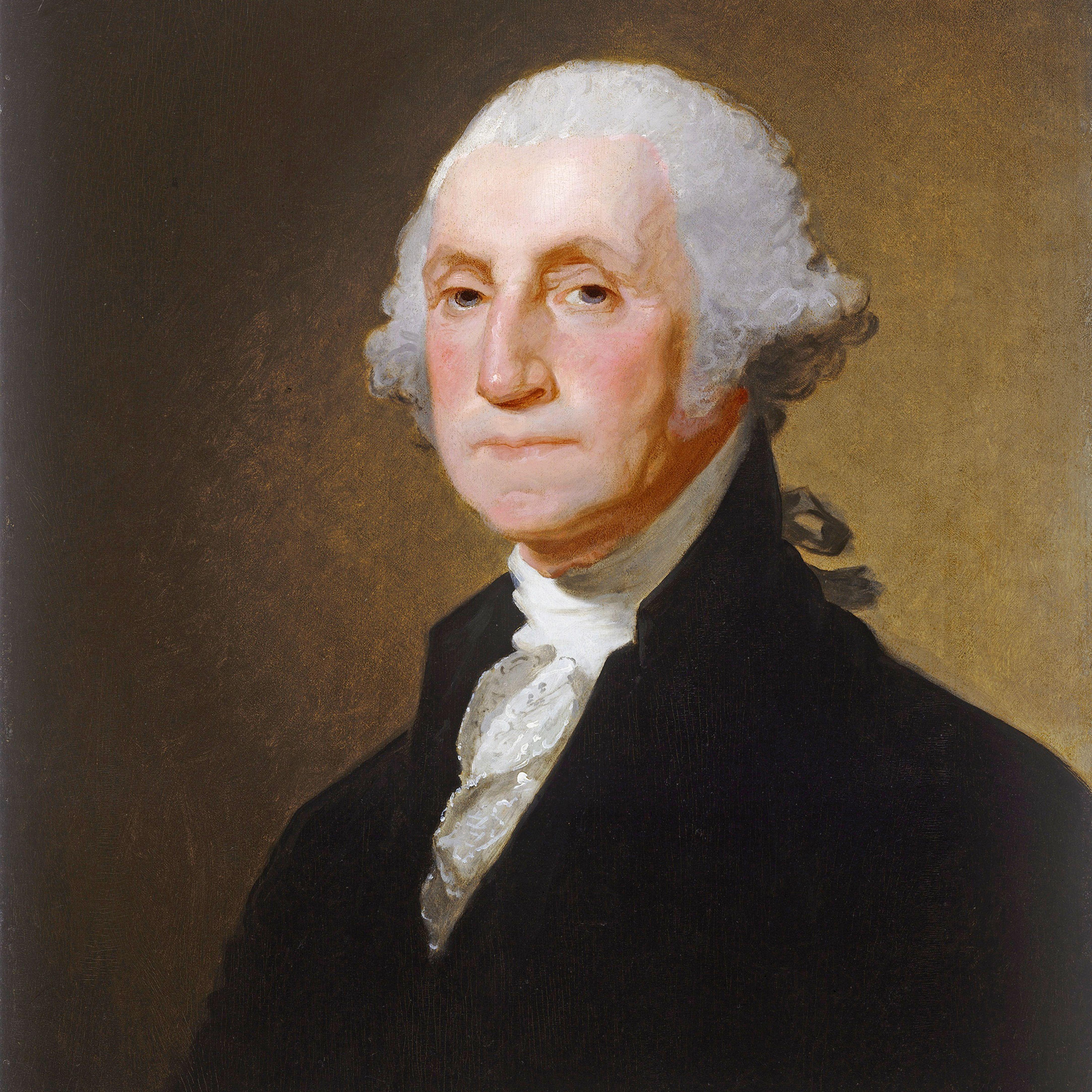Painting of George Washington, c.1821