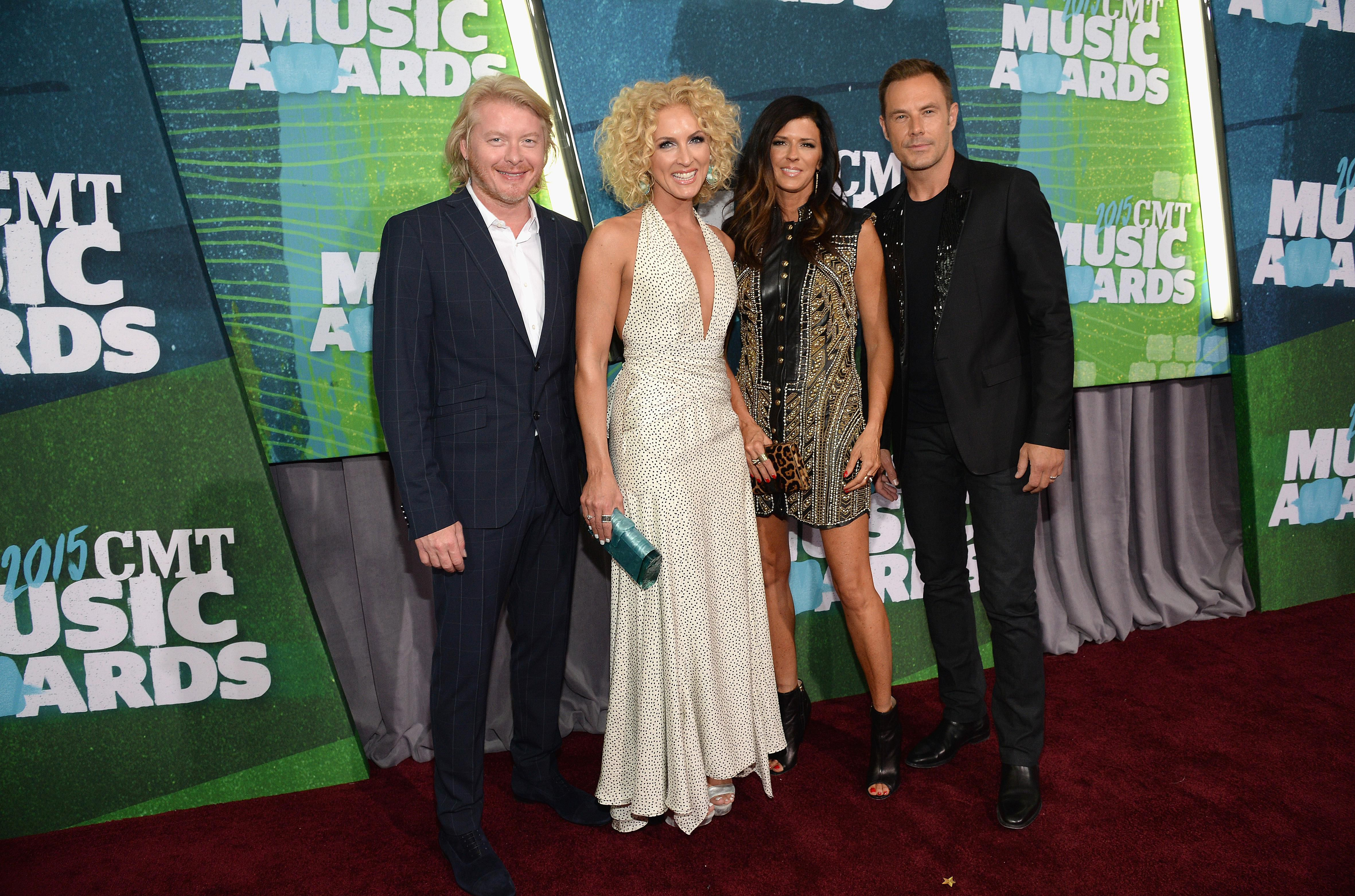 Little Big Town at the 2015 CMT Music Awards