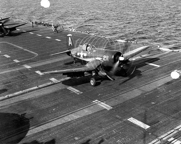 vought f4u corsair world war ii