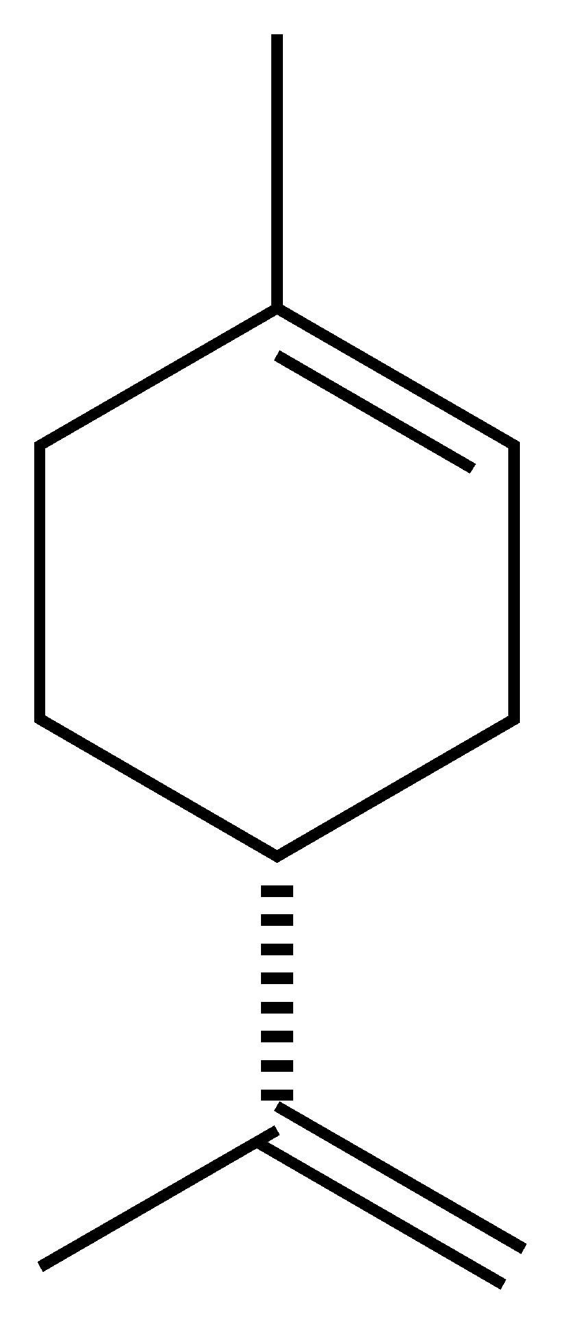 Limonene is a cyclic terpene, a type of hydrocarbon.