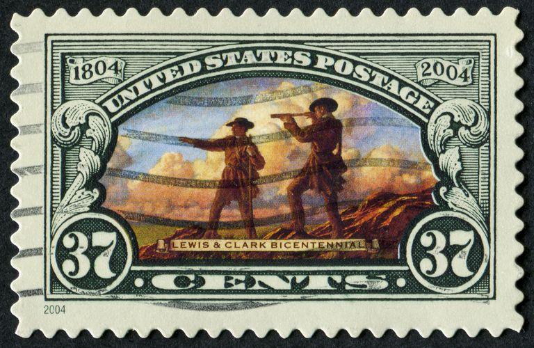 Lewis & Clark postage stamp
