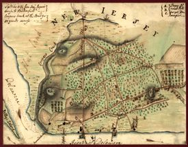 Map Of Camden, New Jersey, & Environs