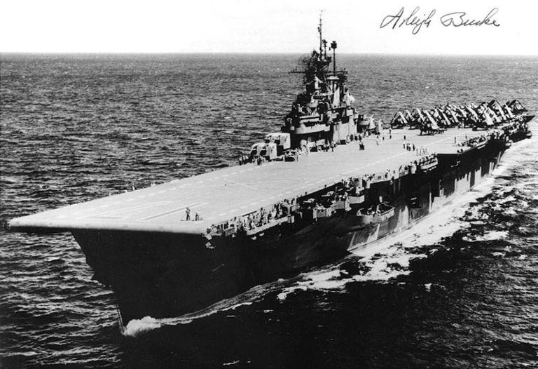 USS Bunker Hill (CV-17), 1945