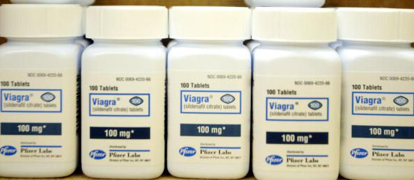 Bottles of Viagra
