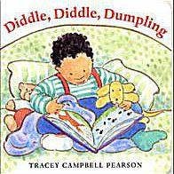 Arte de portada para Diddle, Diddle, Dumpling a board book